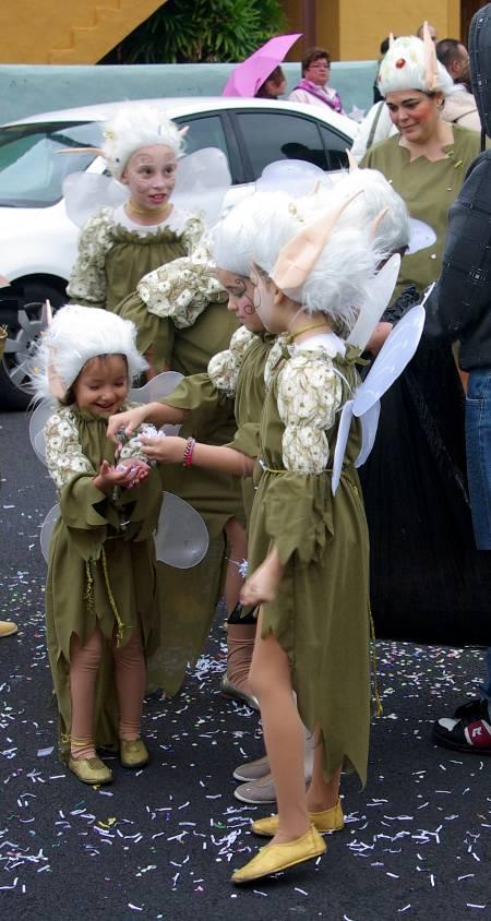 Faries at the Carnival parade, Los Cancajos, Brena Baja, 2011