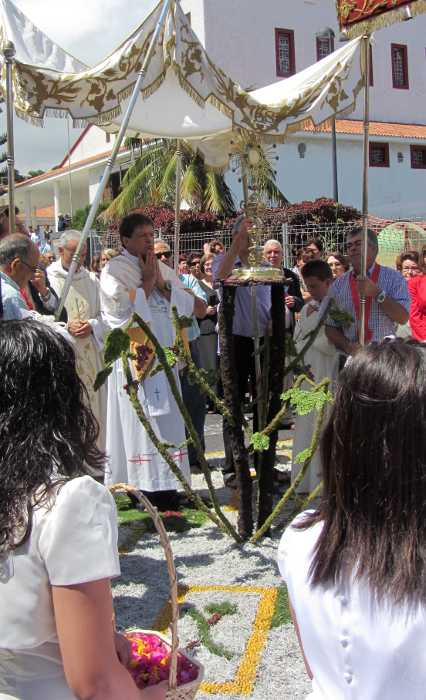 Corpus Christi procession in San Jose, Breña Baja