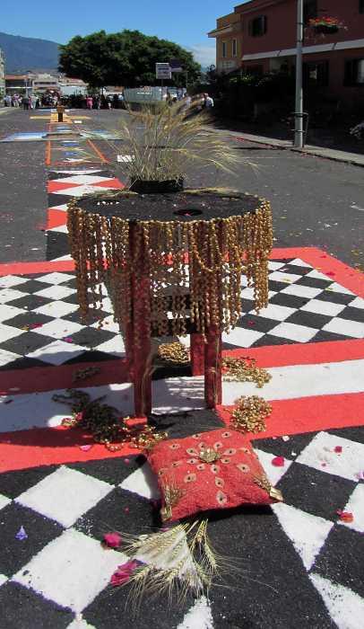 Corpus Christi altar in San Jose, Breña Baja