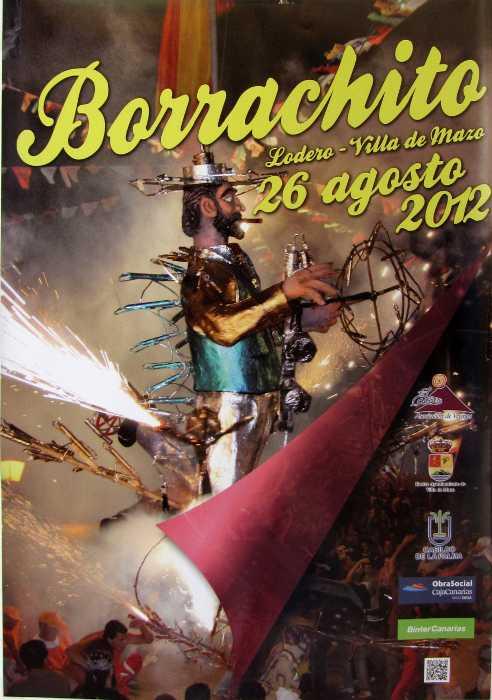 Poster for El borrachito fiesta, Villa de Mazo, La Palma