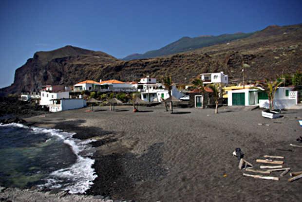 Salermera beach and beach huts