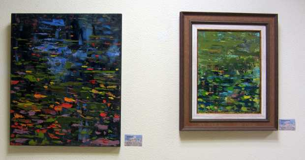 Paintings by Alba Molina, Santa Cruz de la Palma