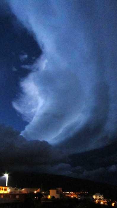 Wild sky in San Jose, 7 pm