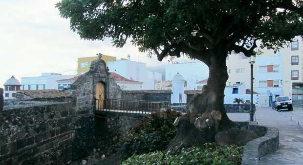 The entrance to St Catherine's Fort, Santa Cruz de La Palma