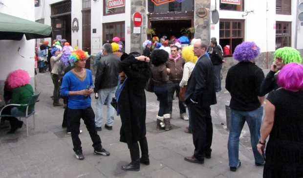 Wig fiesta,  Carnival, Santa Cruz de la Palma