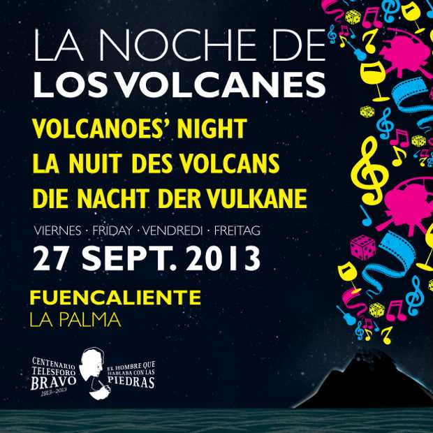 Leaflet for volcanoes night 2013, page 1