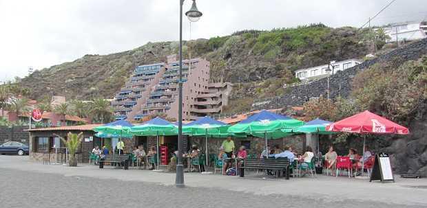 The Pulpo, on thebeach at Los Cancajos