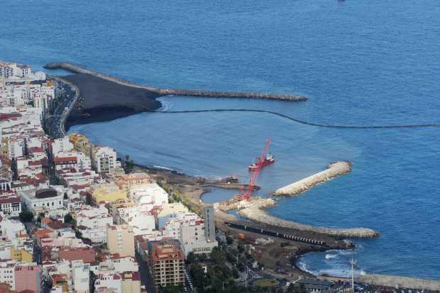 Santa Cruz de La Palma from the Concepción headland